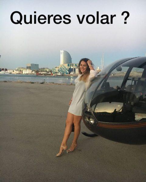 helicóptero Barcelona